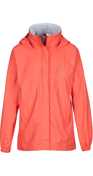 """Marmot Girls PreCip Jacket Living Coral"""